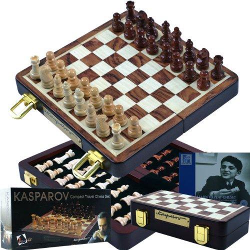 Kasparov Compact Travel Chess Set