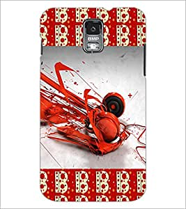 PrintDhaba Music D-4630 Back Case Cover for SAMSUNG GALAXY S5 (Multi-Coloured)