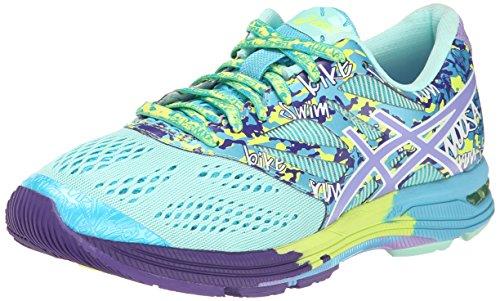 ASICS Women's Gel-Noosa Tri¿ 10 Mint/Lavender/TURQ 9 B - Medium