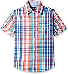 Nautica Kids Boys' Shirt (N874266Q405_Provincial_9 - 10 years)
