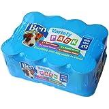 Ben Chunks Variety Pack 400 g (Pack of 12)