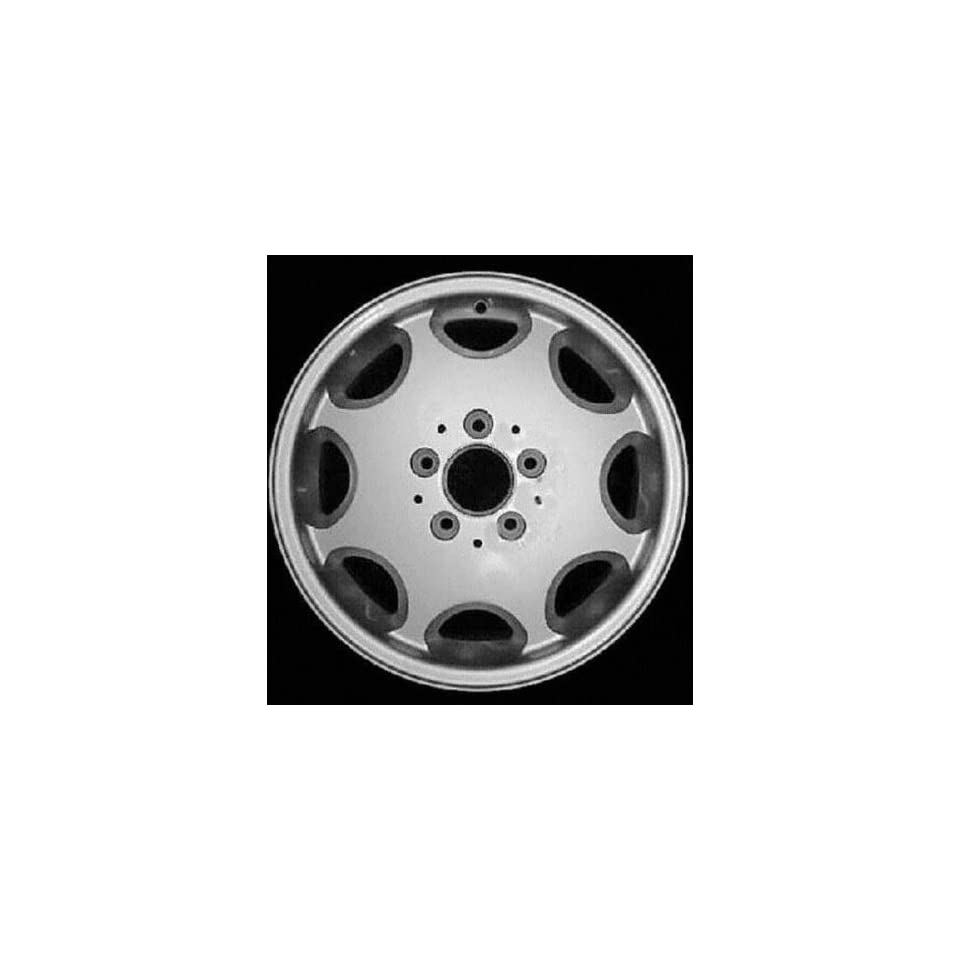 94 MERCEDES BENZ E320 e 320 ALLOY WHEEL RIM 15 INCH, Diameter 15, Width 6.5 (8 HOLE), CHROME, 1 Piece Only, Remanufactured (1994 94) ALY65159U85