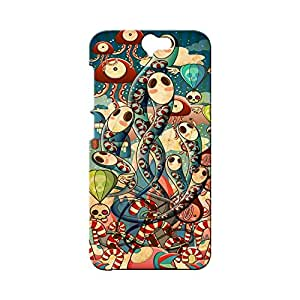 BLUEDIO Designer Printed Back case cover for HTC One A9 - G4541