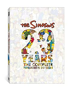 The Simpsons: The Complete Twentieth Season from 20th Century Fox