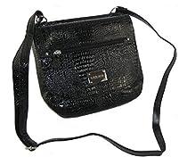 Kenneth Cole Unlisted Abby Cross Body Bag ~ Black