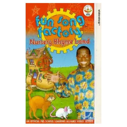 Fun Song Factory Nursery Rhyme Land [VHS] Childrens