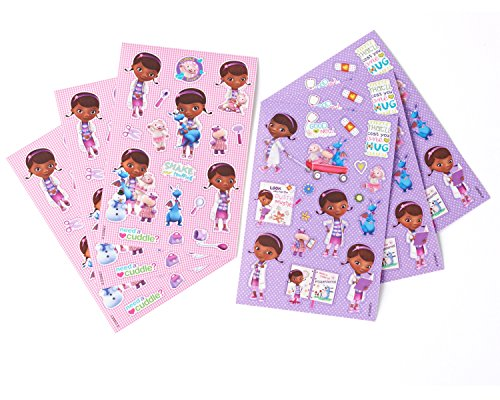 Disney Doc McStuffins Sticker Sheets, 6 Count,  Party Supplies