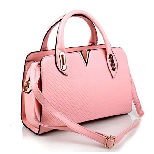 SmileForever New Elegant Noble Simple Shoulder Female Hand Bag