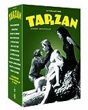 Tarzan Collection (12 Films) - 7-DVD Box Set ( Tarzan Escapes / Tarzan the Ape Man / Tarzan and His Mate / Tarzan Finds a Son! / Tarzan's New York Advent [ NON-USA FORMAT, PAL, Reg.2 Import - France ]