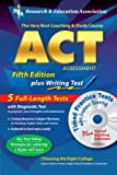 img - for ACT Assessment 5th. Ed. w/CD-ROM (REA) - The Best Test Prep for the ACT (Test Preps) book / textbook / text book
