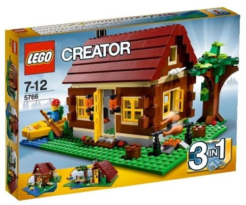 5130DOQufpL Cheap Price Lego  Creator 5766 Log Cabin