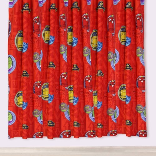 "Cheap CHUGGINGTON KID CHILDREN BEDROOM CURTAINS SET 66 X 72 "" INCHES MATCHES DUVET NEW (CHUG-CUR-72)"