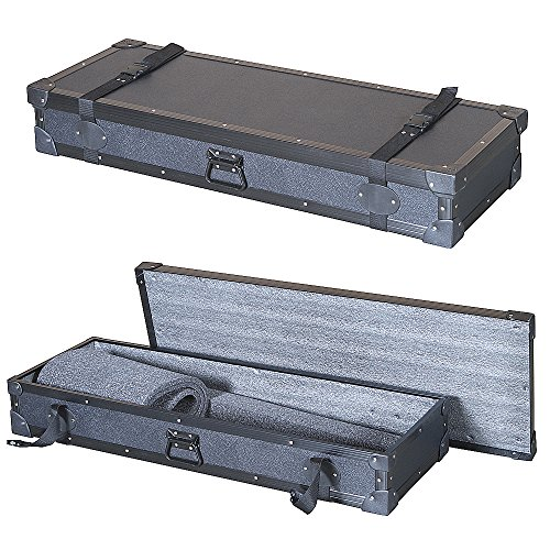 "Keyboard 1/4"" Economy 'Tuffbox' Light Duty Road Case Fits Korg X5D X5-D X5 D 61 Key - Does Your Keyboard Fit?"