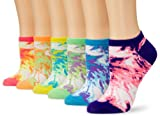 K. Bell Socks Womens 6-Pack Tie Dye