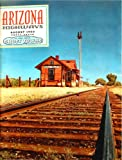 img - for Arizona Highways, August 1960 (Ghost Towns; Peralta Grant) (Vol. 36, No. 8) book / textbook / text book