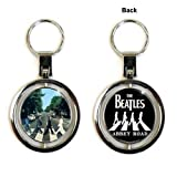 Rock Off - The Beatles Enamel Keychain Abbey Road Spinner