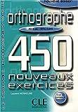 echange, troc Laurent Hermeline - Orthographe niveau débutant : 450 nouveaux exercices