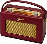 Revival RD60 portable (DAB+ / DAB / UKW-Tuner) Retro-Radio burgundy