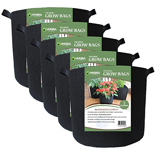 grow-bags-fabric-planter-raised-bed-aeration-container-5-pack-black-5-gallon-with-handles