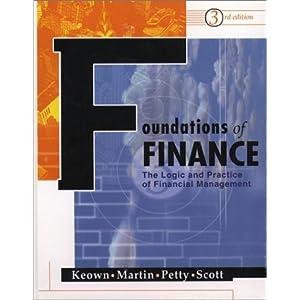 Keown & Petty Foundations of Finance