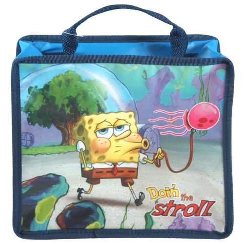 Sponge Bob Rectangle Non-Woven Lunch Bag w/Handle & Zipper - 1