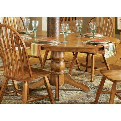 Luxury Steve Silver Skoal Inch Round Dining Table w Inch Leaf