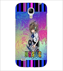PrintDhaba Music D-3036 Back Case Cover for SAMSUNG GALAXY S4 MINI (Multi-Coloured)