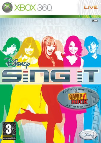 Disney Sing It (xbox 360) Karaoke Singalong Game