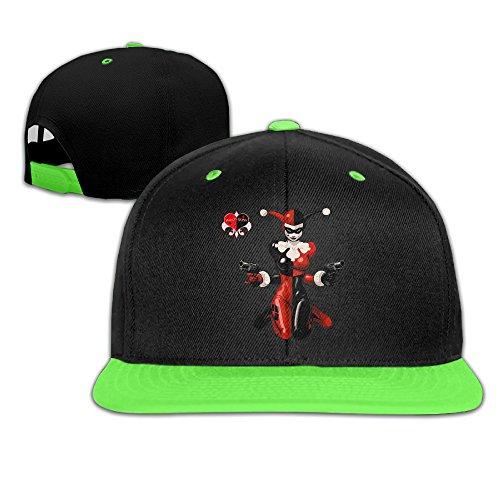 YOKO Hats -  Cappellino da baseball  - Uomo KellyGreen Taglia unica
