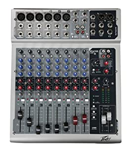Brand New Peavey PV10USB 10 Channel Portable Mixer with USB Port /DSP Effects and low Noise Microphone Inputs with Insert Points