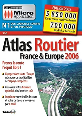 Atlas Routier - France & Europe Edition 2006