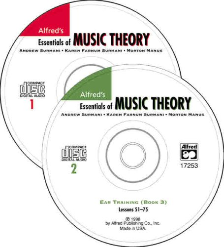 Essentials of Music Theory: Ear Training CDs 1 & 2 Combined (for books 1-3)