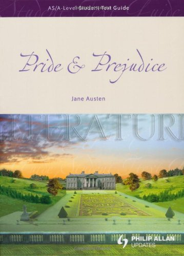 Image for Pride & Prejudice: AS/A-Level Student Text Guide (As/A-level English Literature)