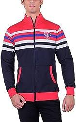 UCC Men's Fleece Regular Fit Sweatshirts (UCC6030BLACK-XL)