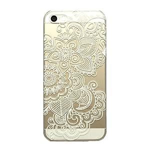 Amazon.com: iPhone 5c case, JAHOLAN Henna Series Stapelia Floral Lace