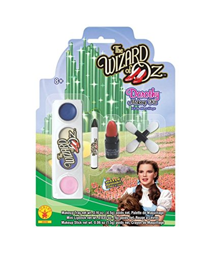 Wizard of Oz Dorothy Girls Makeup Kit Halloween Costume Accessory
