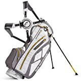 Sun Mountain Golf 2014 Superlight Three5 Stand Bag White/Grey/Yellow