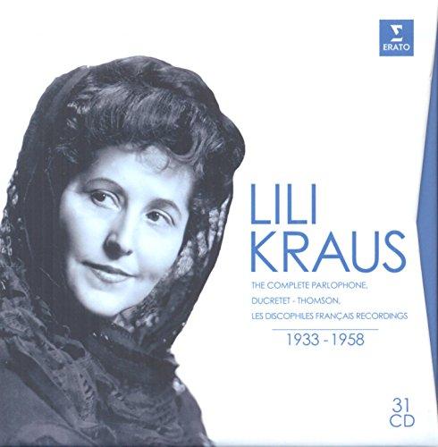Click To Enlarge Artist Lili Kraus Brand Boskovsky W