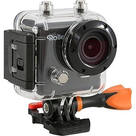 Rollei Actioncam 410 - Caméscope - 4 Mégapixels, résolution Full HD (1080p/60fps), WiFi integrée, impermeable jusqu'à 40 m - avec télécommande HF 2.4 G