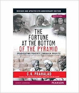 The Fortune at the Bottom of the Pyramid: Eradicating Poverty Through Profits 5 Edition price comparison at Flipkart, Amazon, Crossword, Uread, Bookadda, Landmark, Homeshop18