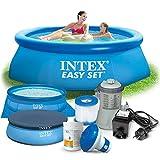 7in1 Set Gartenpool 244 x 76 cm Quick Up Pool
