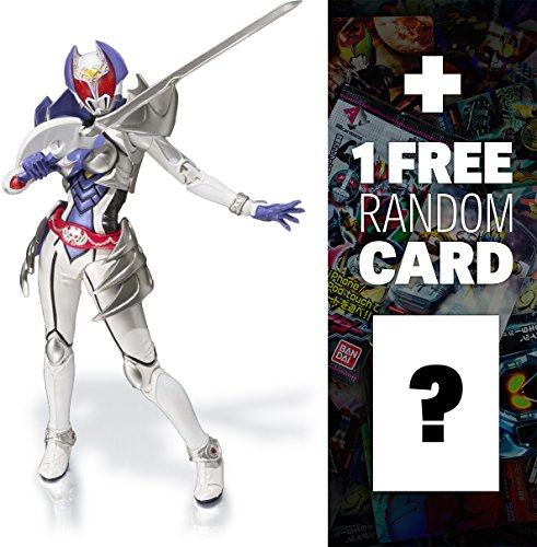 "Kamen Rider Kiva-La: ~5.1"" Tamashii Nations S.H. Figuarts Action Figure + 1 FREE Official Japanese Kamen Rider Trading Card Bundle"
