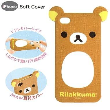 iPhone4専用ダイカットカバー リラックマ