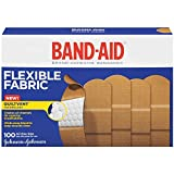 Johnson Johnson Flexible Fabric Adhesive Bandages 1 x 3 100 per Box