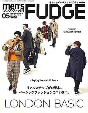 men's FUDGE - メンズ ファッジ - 2019年 5月号 Vol.112