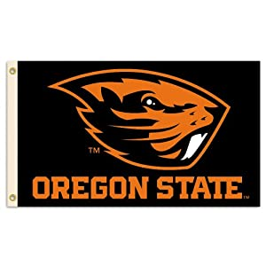 Buy NCAA Oregon State Beavers 3-by-5 Foot Flag with Grommets by BSI