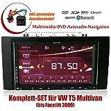 2DIN Autoradio CREATONE CTN-9268D56 f�r VW T5 Multivan (bis Facelift 2009) mit GPS Navigation, Bluetooth, Touchscreen, DVD-Player und USB/SD-Funktion