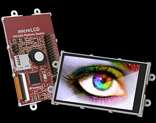 """3.2"""" Widescreen Lcd Display With Adaptor For Raspberry Pi"""