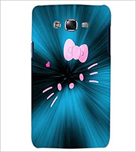 PrintDhaba Kitty D-2847 Back Case Cover for SAMSUNG GALAXY ON 7 (Multi-Coloured)