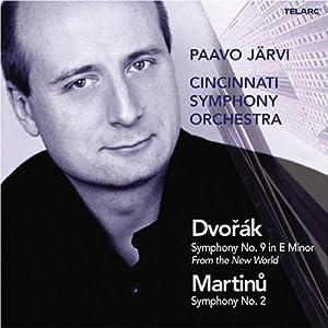 """Dvorak: Sym No. 9 """"From The New World"""" / Martinu: Sym No. 2"""